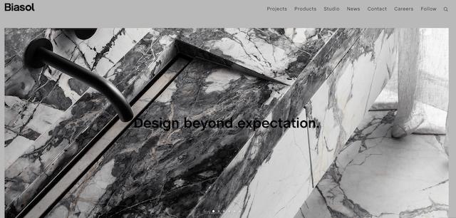 Biasol Design Homepage
