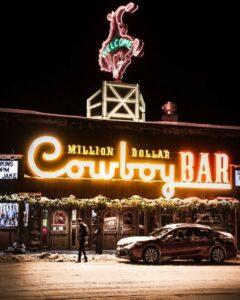 Brand Strategy Cowboy Bar Signage