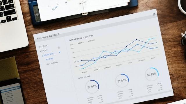 Business Finance Report on Desk