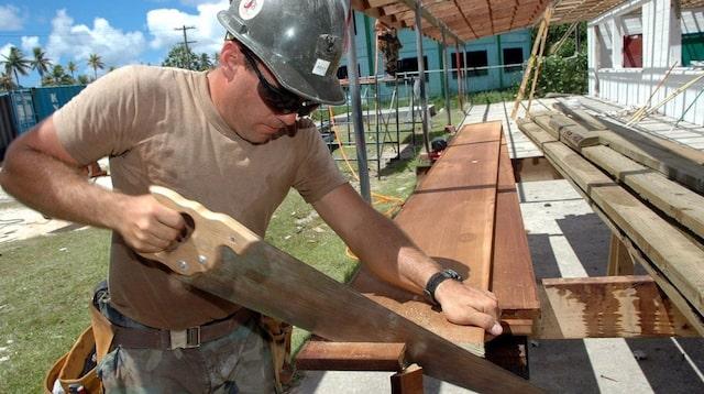 Business Proposal Template Carpenter on Job Site