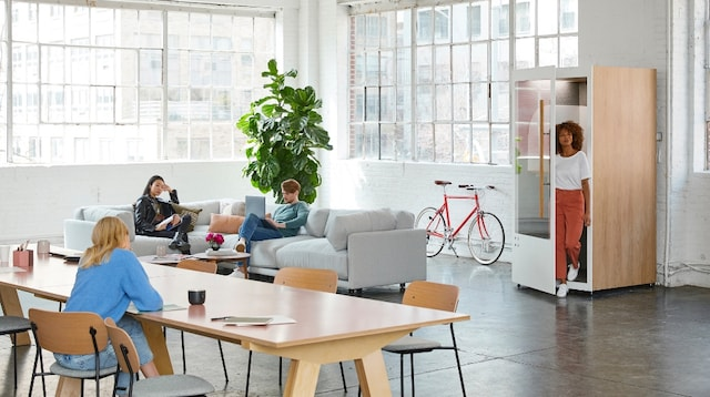 Coworking Space Typical Layout
