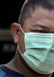 Employee Engagement Man Wearing Mask