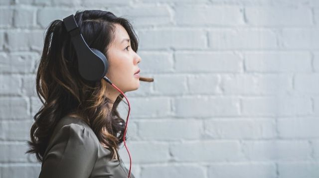 Freelance Jobs Woman with Headset