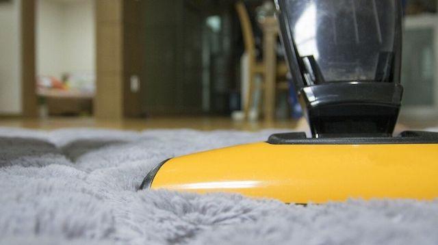 Housekeeping Jobs Closeup of Vacuum