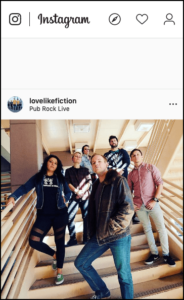 Instagram Business Account Love Like Fiction