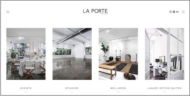 La Porte Space Homepage