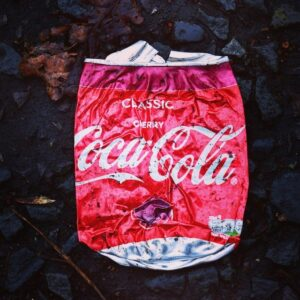 Make Your Own Logo Smashed Coke Can