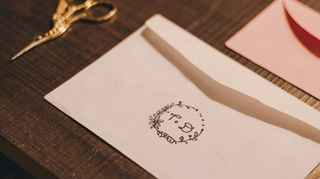 Market Segmentation Monogrammed Envelope