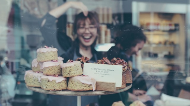 Mission Statement Bakers Seen Through Window