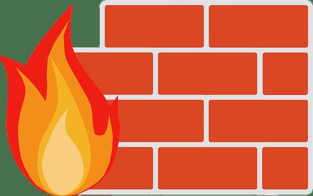 Online Virus Scan Firewall Graphic