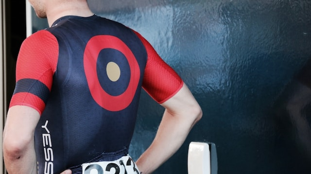 Personas Man with Target on His Shirt