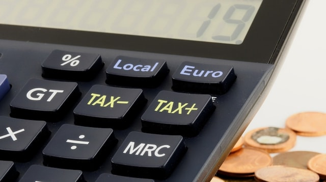 Register for GST Closeup of Tax Calculator