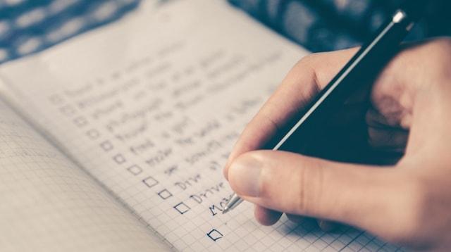 Social Media Platforms Person Making List