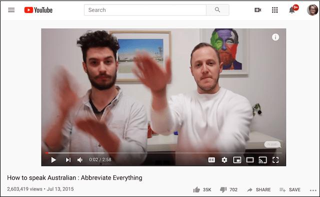 Social Media Platforms YouTube Video