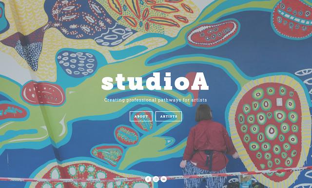 studio A homepage