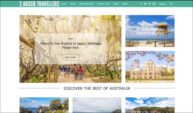 Travel Blog 2 Aussie Travellers