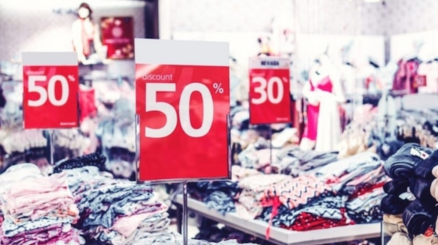 Visual Merchandising Sale Signs