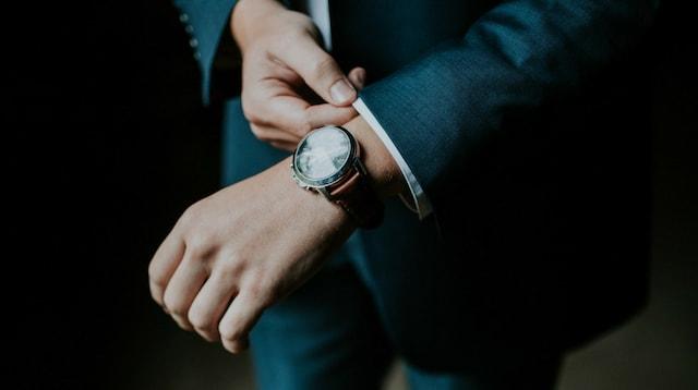 Create Email Address Businessman Adjusting Cuffs