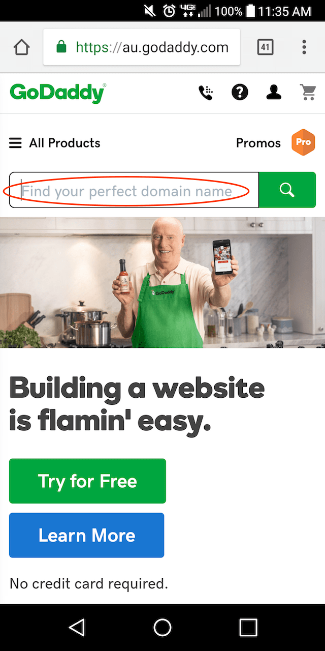 Domain Name Check Mobile