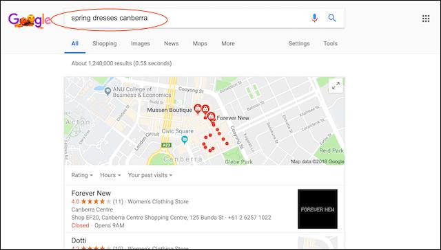 Website Optimisation Google Search Canberra