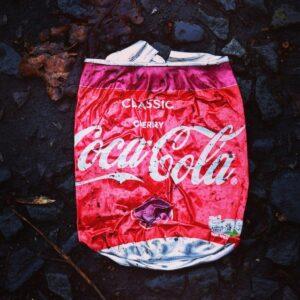 Smashed Coke Can