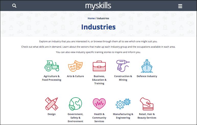 New Job My Skills Website