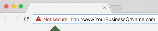 Secure Website Chrome Not Secure Warning