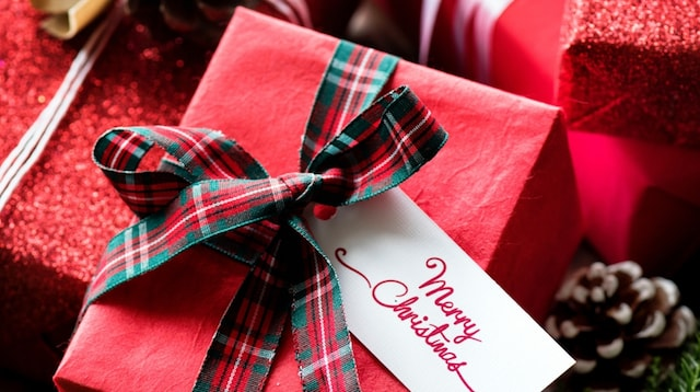 SEO Ideas Wrapped Holiday Gifts