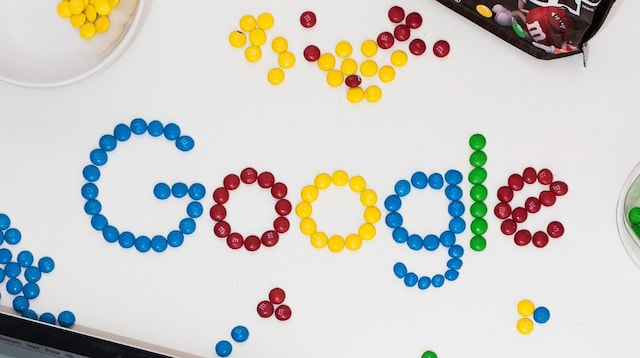 SEO Tools Google Spelled with Candy