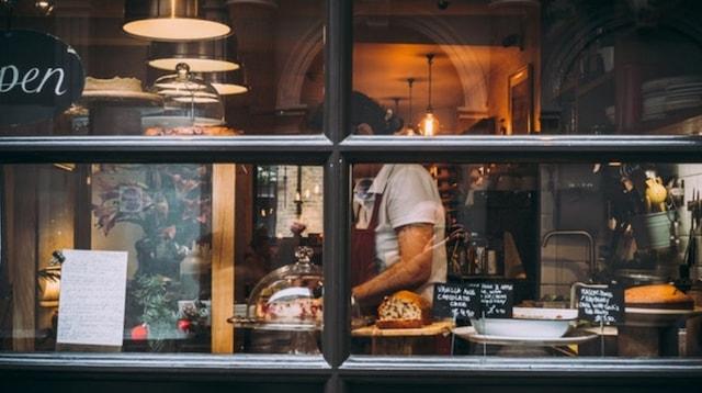 Small Business Australia Bakery Window