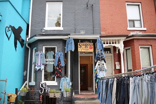 Small Business Grants Vintage Clothing Shop