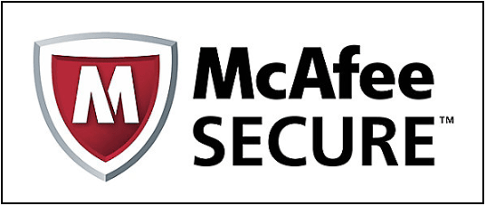 SSL Encryption McAfee Secure Seal