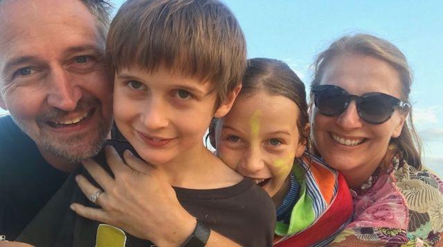 Tam Oppen and family