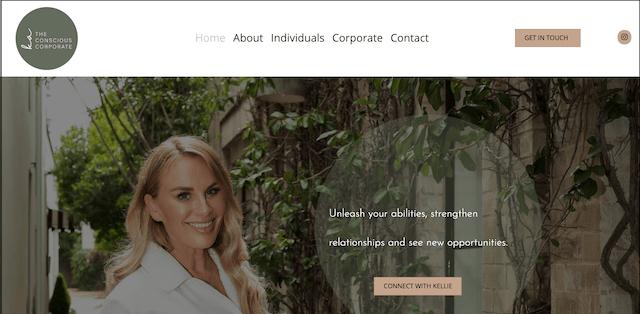 The conscious corporate website