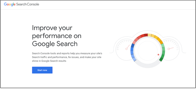 Website Design Google Search Console