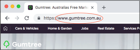 Website Design Gumtree Website Address