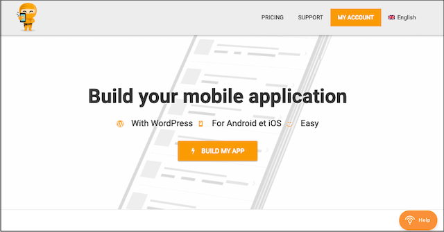 Website Into Mobile App WPMobile-App