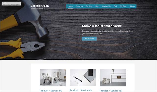WordPress Templates Lyrical Handyman
