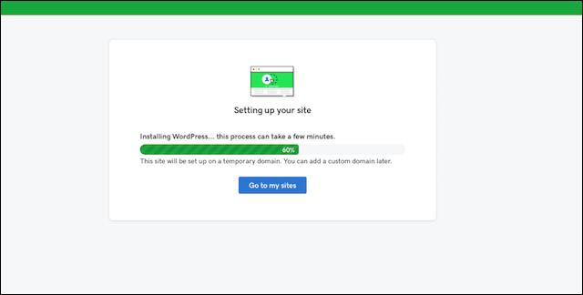 WordPress Templates Managed WordPress Download Screen