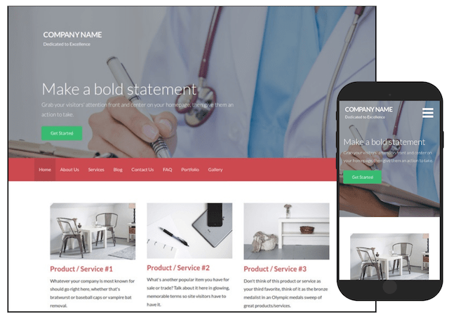 WordPress Themes Activation Health & Medical