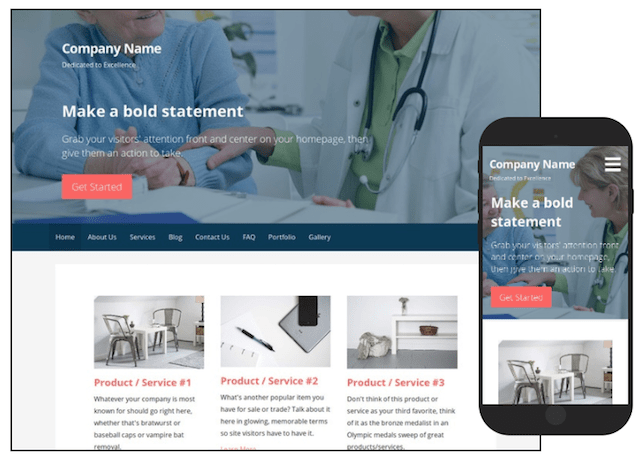 WordPress Themes Primer Cardiologist