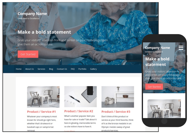 WordPress Themes Primer Home Health Care