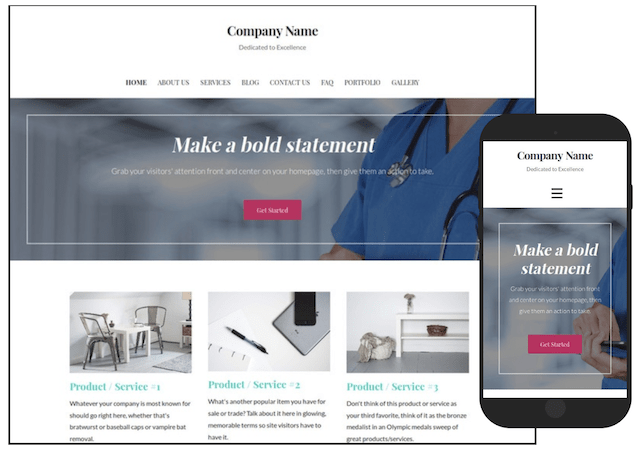 WordPress Themes Uptown Style Surgical Center
